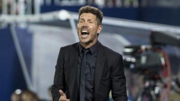 Diego Simeone prekrižio dvojicu fudbalera