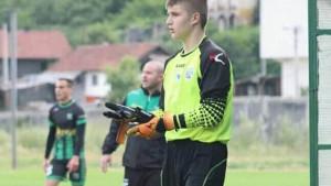 Ujutro kadet, poslijepodne senior: Dan za nezaborav 14-godišnjeg golmana FK Rudar Kakanj
