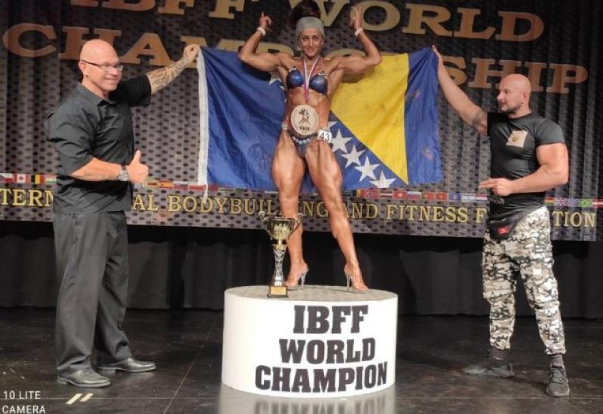 Mostarka prvakinja svijeta u body buildingu i fitnessu