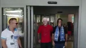 """Cavani"" sletio na aerodrom u Napulju!"