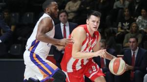 Zvezda razbila Mornar za 8/8 u ABA ligi