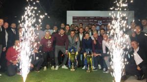 Pogledajte kako je izgledala torta na sinoćnjoj proslavi FK Sarajevo