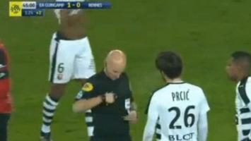 Nepromišljen potez Prcića, Rennes iščupao bod