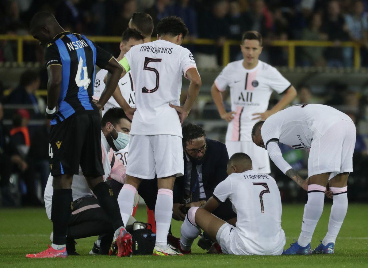 Crna noć za PSG: Izgubili su dva boda u Bruggeu, a onda saznali loše vijesti