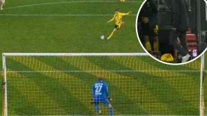 Reusov užasan penal, Terzić je od muke samo okrenuo leđa i sjeo na klupu