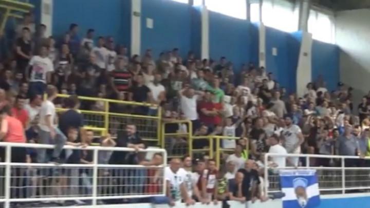 Ovako u Srebreniku slave šampione: Pune tribine i atmosfera za pamćenje