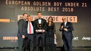 Objavljena imena 20 kandidata za nagradu 'Golden Boy'