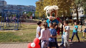 UniCredit Bank u saradnji sa RSG radijom uljepšala tri dječija igrališta u BiH