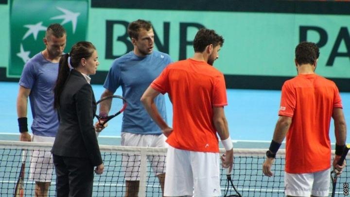 Davis Cup: Holandija povela u Zenici 2:1