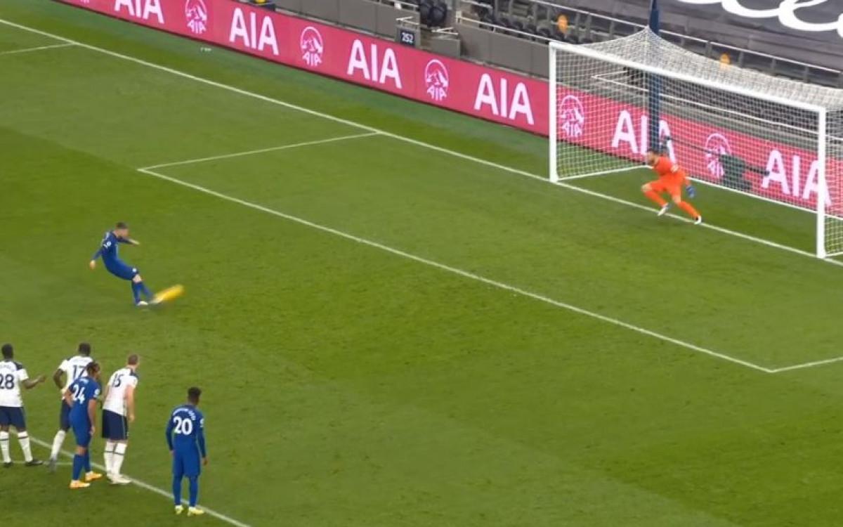 Jorginho promijenio taktiku izvođenja penala i to je demonstrirao večeras