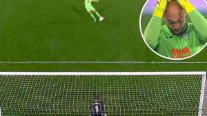 Srbijanski golman ponovo šutirao penal, ali bolje da nije