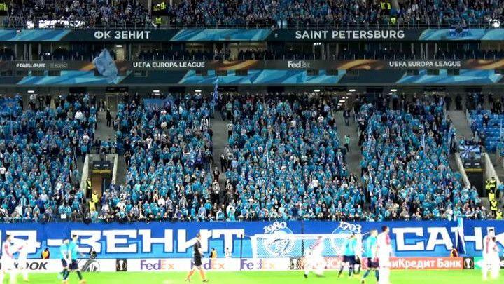UEFA kaznila Zenit zbog transparenta o Ratku Mladiću
