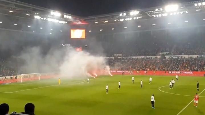 Utakmica u Mainzu prekinuta prije nego što je i počela