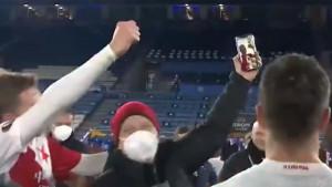Napravili senzaciju u Evropa ligi, pa video pozivom slavili sa bivšim saigračem