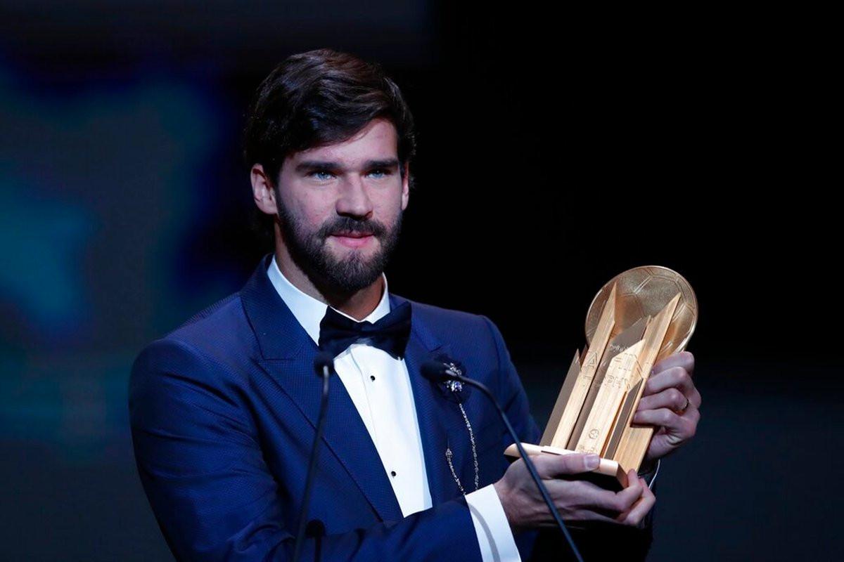 Alisson izabran za najboljeg golmana