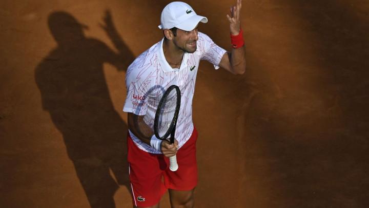 Novak Đoković u finalu Rima