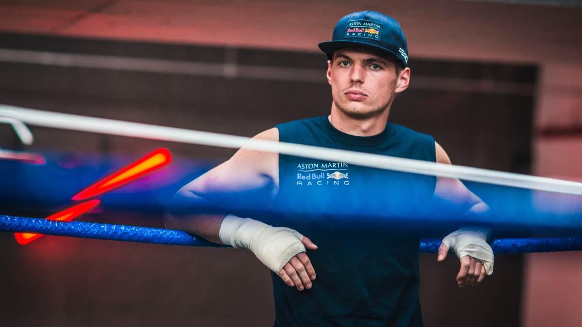 Verstappen u ringu sa svjetskim prvakom u boksu