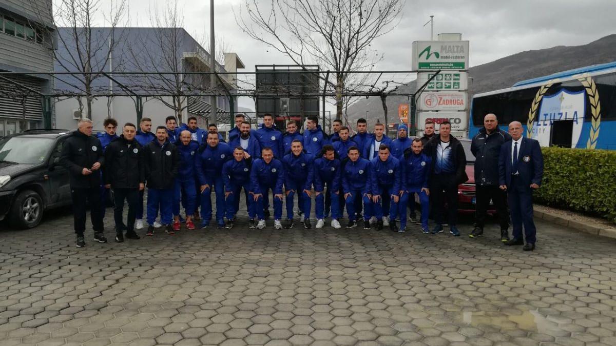 FK Tuzla City od danas u Ulcinju