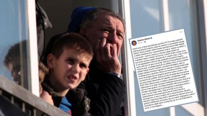 """Mamić o Hajduku: """"Da nije Dinama Evropu bi vidjeli samo na tv-u, jer ih nema ni na Play Stationu"""""""