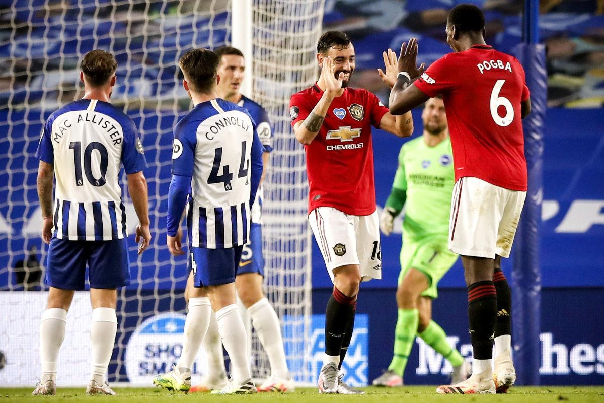 United na krilima Fernandesa razbio Brighton