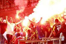 Sramotni transparenti navijača Galatasarayja