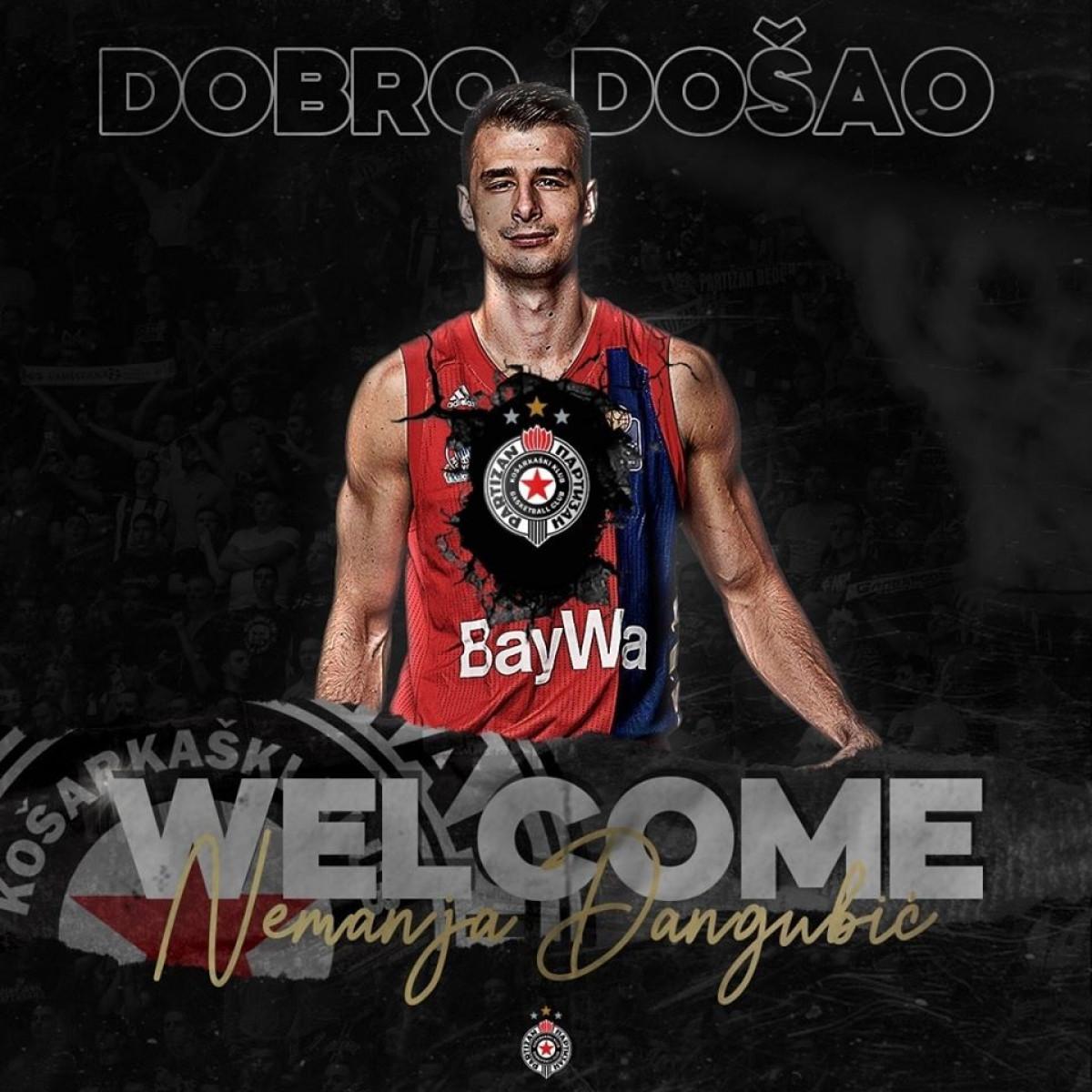 Partizan uzvratio udarac velikom rivalu: Nemanja Dangubić potpisao za 'crno-bijele'