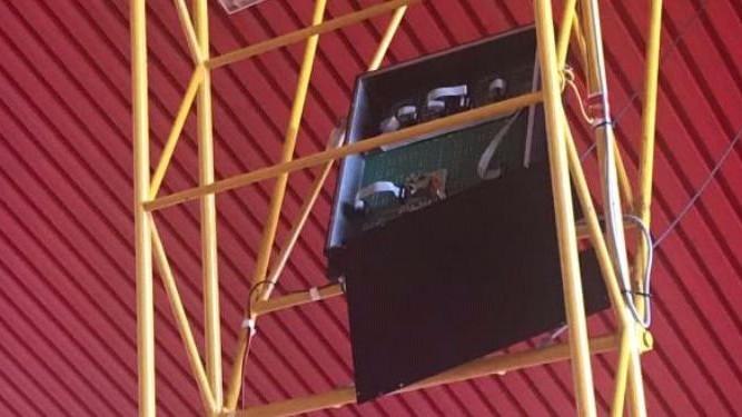 Uništen semafor nekoliko sati pred meč Zrinjski - Igokea