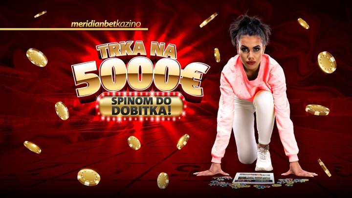 ISKORISTITE ŠANSU: Zabavite se na Meridianovom kazinu i osvojite 5.000 evra!