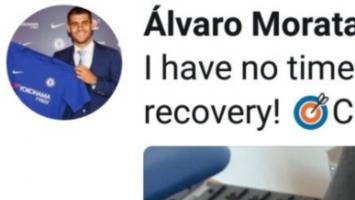 Navijači zabrinuti nakon što je Morata obrisao tweet