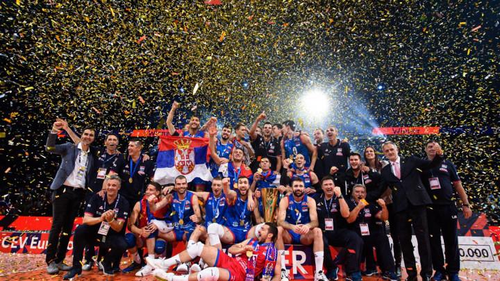 Odbojkaši Srbije prvaci Evrope