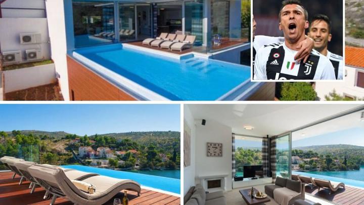 Mandžukić na Braču posjeduje luksuznu vilu koju renta tokom sezone, a noć košta čak 2.000 KM
