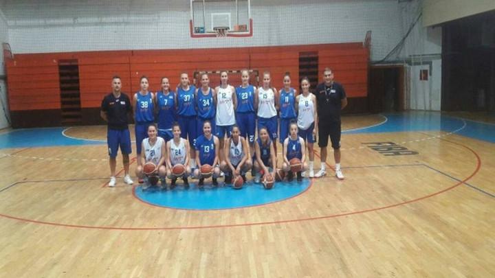 Ženska juniorska reprezentacija obavlja pripreme u Opatiji