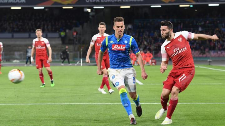 Lacazette golčinom srušio Napoli i odveo Arsenal u polufinale Evropske lige