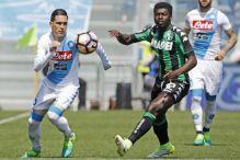 Roma slavi kiks Napolija protiv Sassuola
