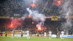 Navijači AEK-a u novoj pjesmi isprozivali Partizan i Srbe