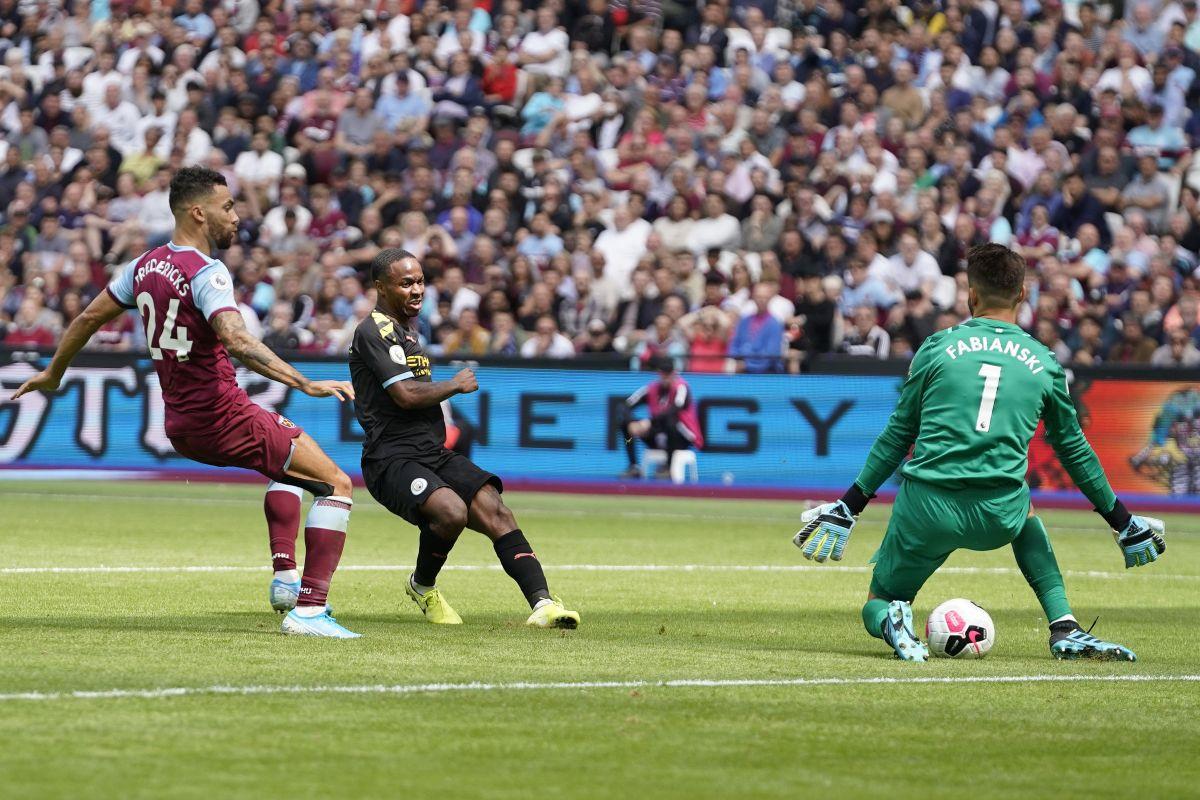 Manchester City na startu pomeo West Ham