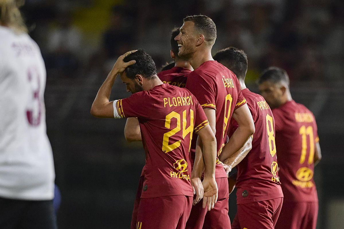 Koliko Edina Džeku vole igrači Rome najbolje pokazuje objava Nicole Zaniola