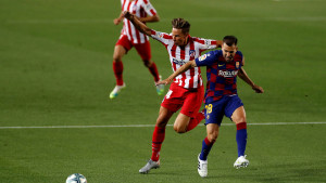 Prizor s pauze za osvježenje najbolje oslikava razliku u Barci i Atleticu