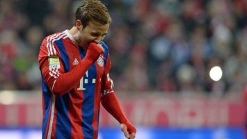 Giovane Elbar: Mario Goetze je nesretan u Bayern Munchenu