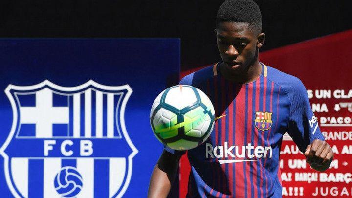 Barcelona profitira zbog Dembeleove povrede