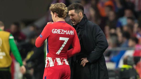 """Simeone se """"odvalio"""" smijati kada je govorio o zamjeni Griezmanna"""