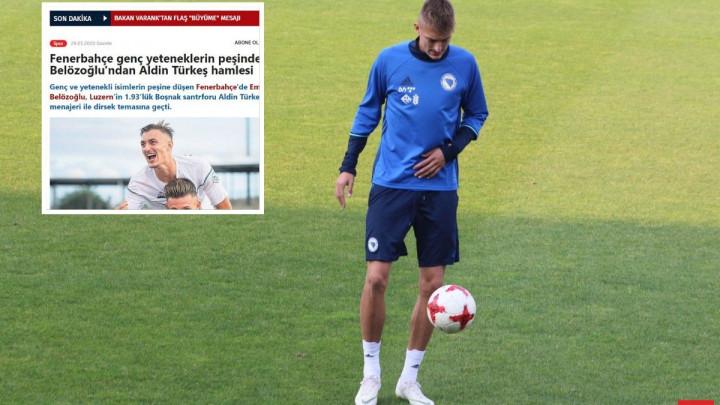 Turci najavljuju: Fenerbahče krenuo po bh. golgetera