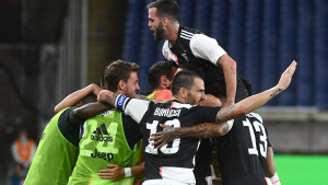 Golčina Ronalda, Juventus stepenicu bliže Scudettu