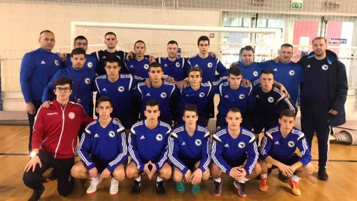 U-19 futsal reprezentacija večeras i sutra igra protiv Italije