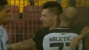Kakav početak: Zakarić zabio u debiju za Partizan!