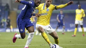 Brighton neporažen napušta Stamford Bridge