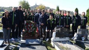 Prvotimci Sarajeva posjetili grob Vedrana Puljića