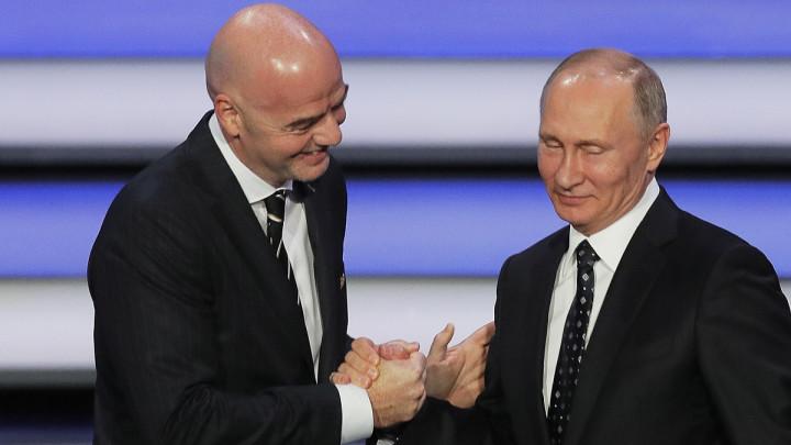 """FIFA se """"klanja"""" Rusima i Putinu: Hvala mu, nikada nije bilo ovako"""