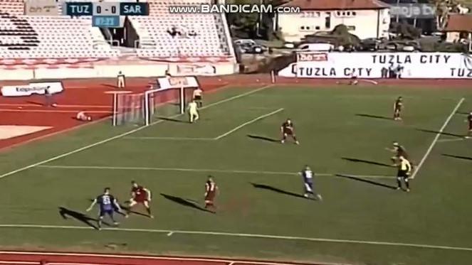 Sarajevo gubi, Ubiparip postigao deveti gol u sezoni