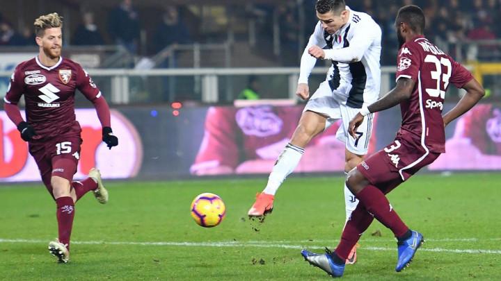 Ronaldo odlučio torinski derbi, pa provocirao golmana Torina